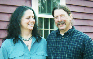 Martha and Brian Klassanos, of Willow Farm Landscaping